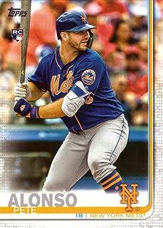 2019 Topps Baseball #475 Pete Alonso Rookie Card