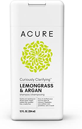 ACURE Curiously Clarifying Lemongrass Shampoo, 12 Fl. Oz. (Packaging May Vary)