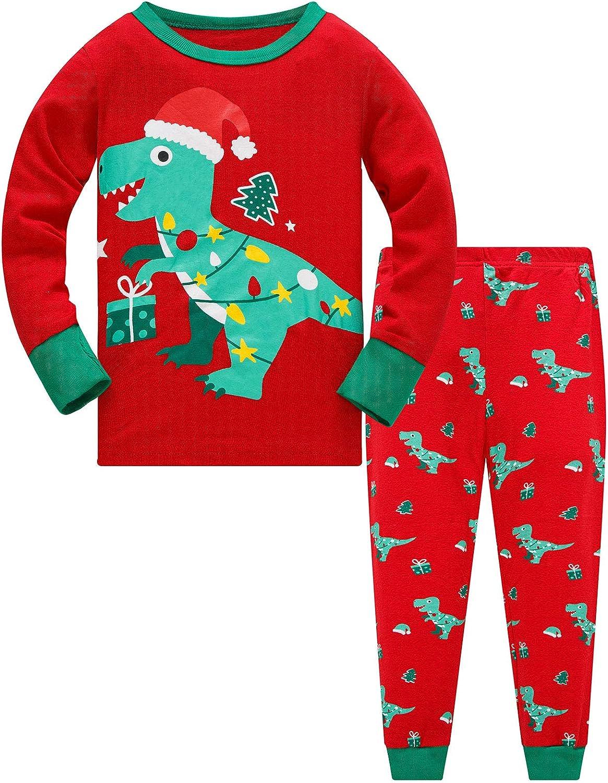 Kids Girls Boy PJ/'S Pajamas Nightwear Xmas Christmas Pyjamas New Age 1-7 Years
