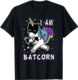 I Am Batcorn Bat Unicorn Superhero Costume T-Shirt