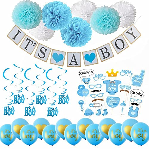 Sex of Baby Gray Boy or Girl Pregnancy Reveal Baby Gender Reveal Pink 17 Props Boy or Girl Gender Reveal Party Props Blue