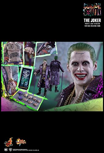 Hot Toys MMS382 - DC Comics - Suicide Squad - The Joker violet Coat Version Standard Version
