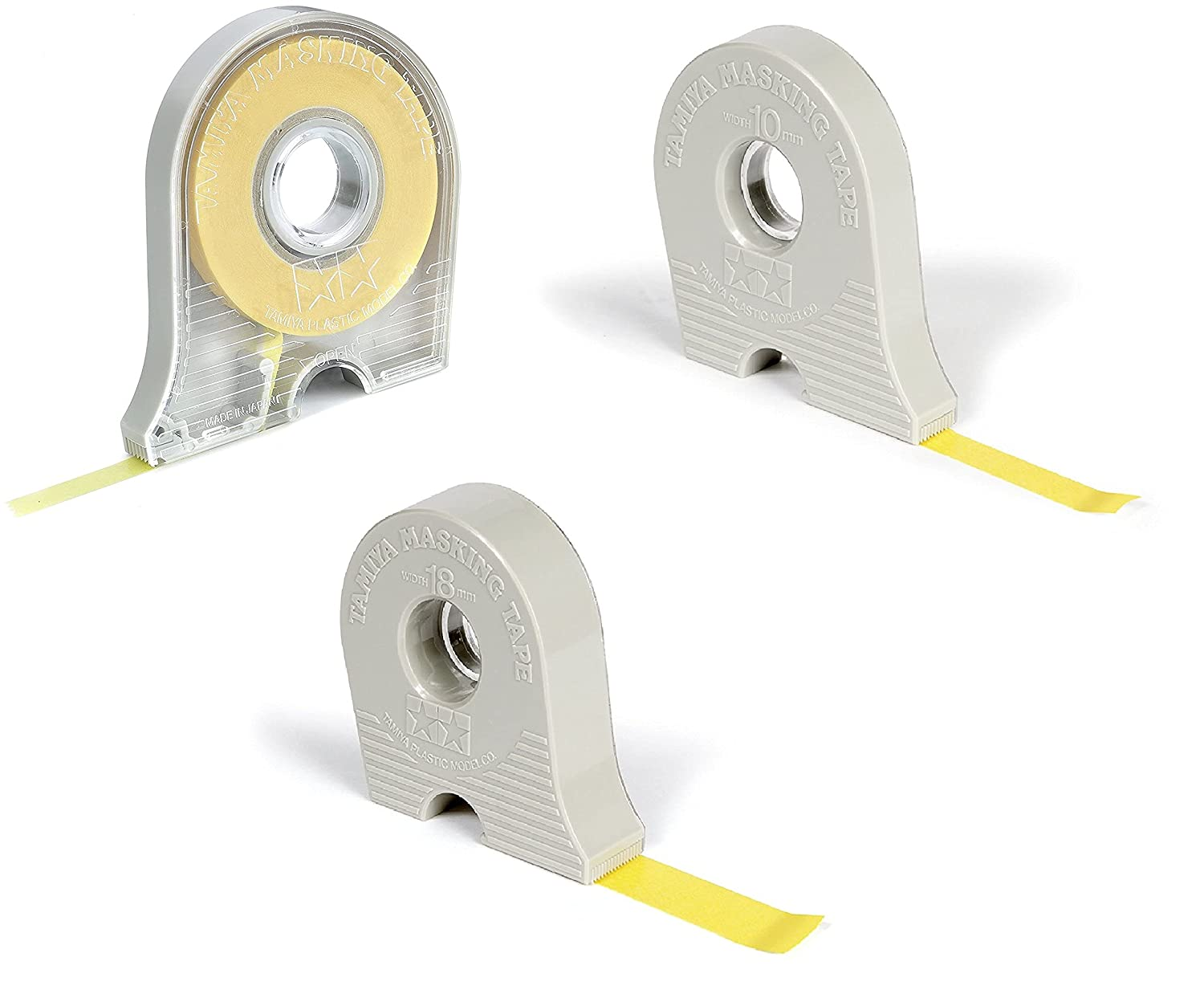 4 Pack Max 73% OFF of 3 Cheap mail order specialty store Masking Tape 10mm Dispensers by with 18mm 6mm