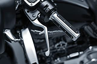 Kuryakyn 1843 Motorcycle Handlebar Accessory: Clutch and Brake Trigger Levers for 2014-16 Harley-Davidson Touring Motorcycles, Chrome, 1 Pair