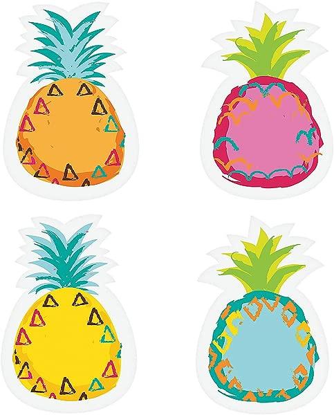 Pineapple Bulletin Board Cutouts 48 Piece Set Educational Classroom Decorations