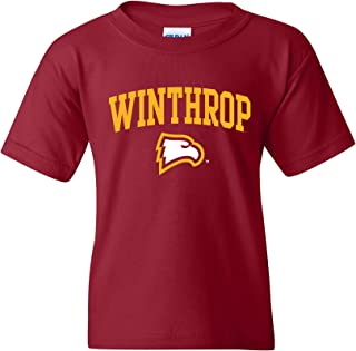 NCAA Arch Logo, Team Color Youth T Shirt, College - University
