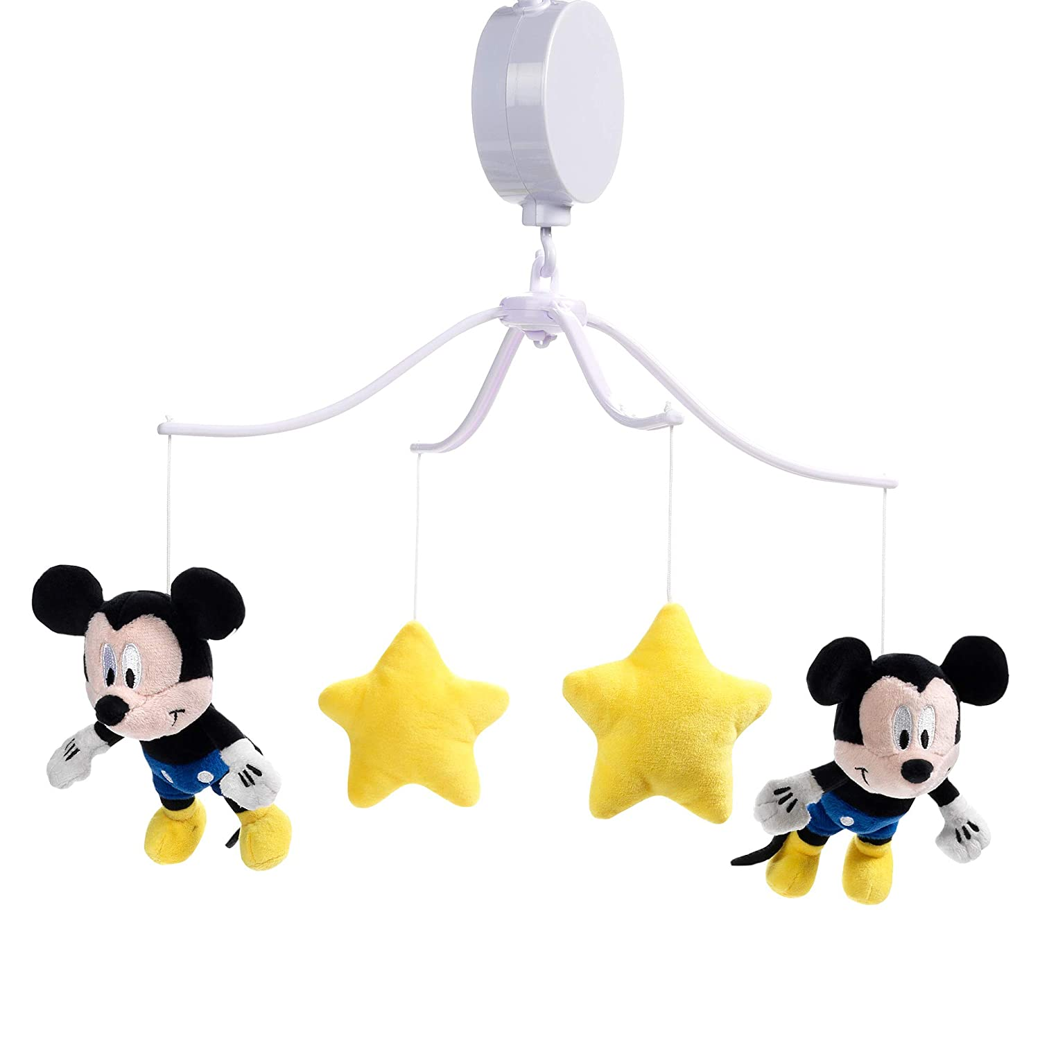 Lambs Ivy 人気ブランド セール商品 Forever Mickey Mouse Musical Crib - Baby Mobile Yell