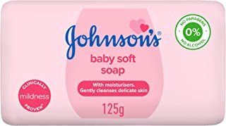 JOHNSON'S Baby Soft Soap, 125 g