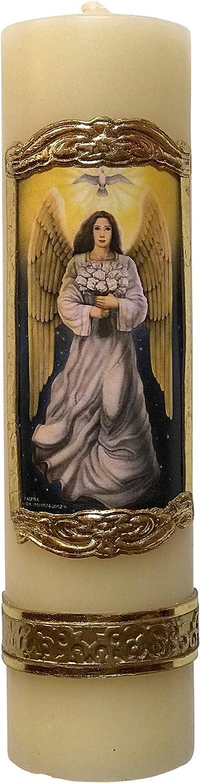 Archangel Saint Gabriel Max 77% OFF Unique 70% OFF Outlet Gabrie Angel San Candle
