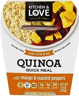 Cucina & Amore Quinoa MEal, Mango & Jalapeno, 7.9 Oz (Pack of 6)