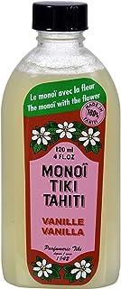 Monoi Tiare Tahiti Coconut Oil Vanilla - 4 Oz, Pack of 2