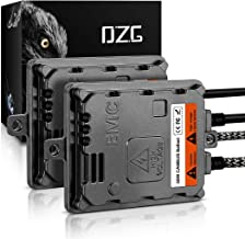 DZG HID Xenon Headlight Ballasts 55W Alternate Current AC with Canbus EMC Super Decoder, 2 Pack