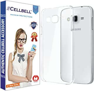 CELLBELL Cellbell Ultra Thin 0.3mm Clear Transparent Flexible Soft TPU Slim Back Case Cover For Samsung J7