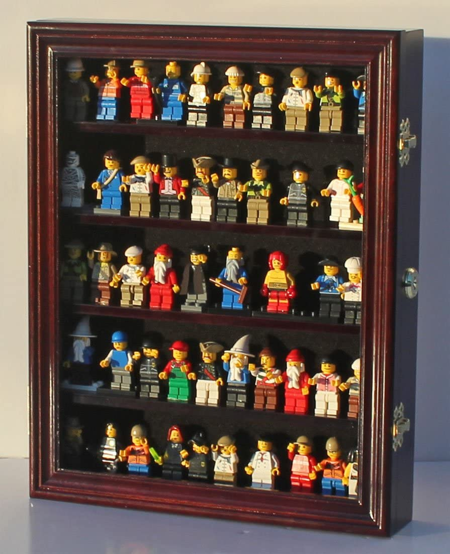Limited time sale Minifigures Dimensions Display Case Thimble latest LG-CN30 Cabinet Wall