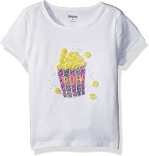 Gymboree Girls' Toddler Short Sleeve Fun Graphic Tee
