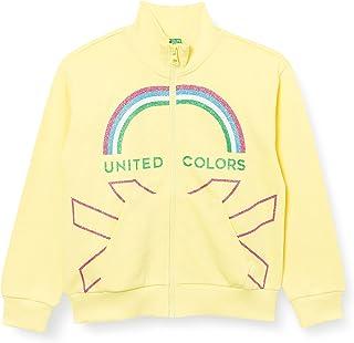 United Colors of Benetton (Z6ERJ) Girls' Giacca M/L 3J68C5933 Cardigan Sweater