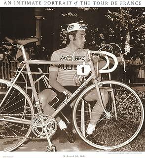 Tour de France, Incomparable Eddy Merckx Art Print Art Poster Print, 24x27