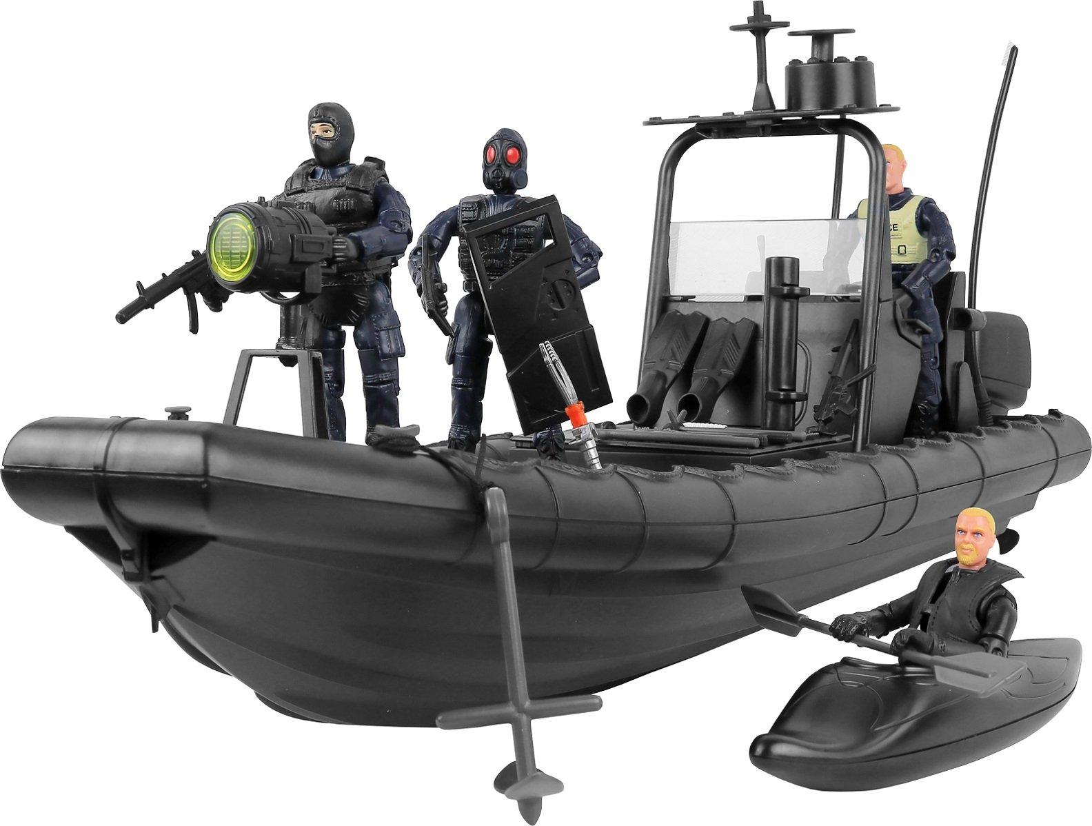 Click N' Play Military Police Elite SWAT Patrol Team 32 Piece Set With...