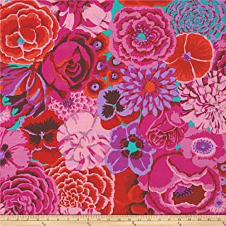 FreeSpirit Fabrics Kaffe Fasset Collective Bekah Magenta Fabric by The Yard