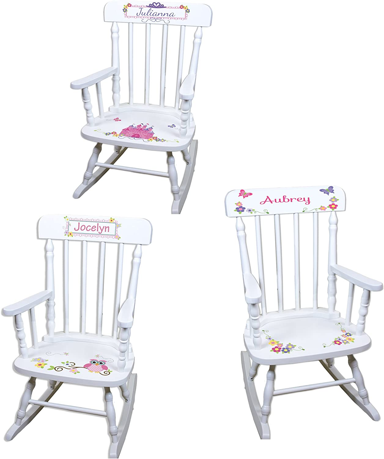 We OFFer at cheap prices Minneapolis Mall Personalized Girls Rocking Chair-White