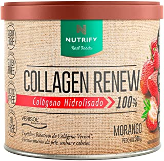 Collagen Renew Verisol (300g) - Morango, Nutrify