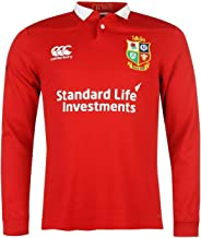 Official Brand Canterbury British and Irish Lions Classic Jersey 2017 Mens Rugby Red Fan Top