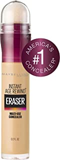 Maybelline Instant Age Rewind Eraser Dark Circles Treatment Multi-Use Concealer, Sand, 0.2 Fl Oz (Pack of 1)
