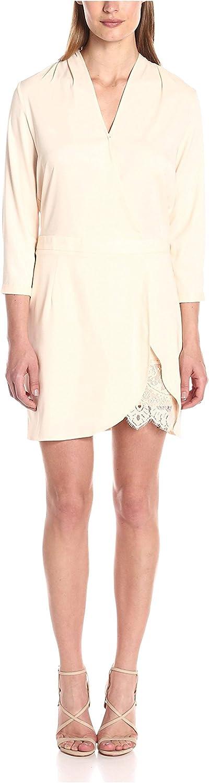 Aijek Women's Moonshine 3 4 Sleeve Mini Dress