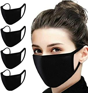 5 pack Anti Dust Cover Waterproof Adult Mouth Cotton Washable Reusable Waterproof with 5 Nose Clips