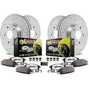 Power Stop K2853-26 Front & Rear Z26 Street Warrior Brake Kit Chrysler Dodge