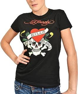 Womens Love Kills Slowly Tee Shirt