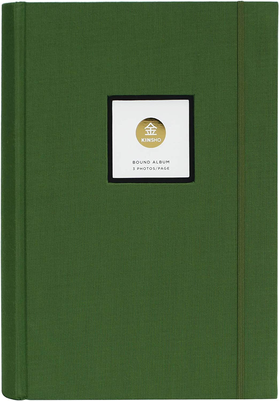 Kinsho KIN3104 Bound Albums, 13  x 9 , Moss