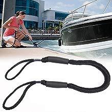FOONEE Línea de atraque para Barcos de 5 pies, Cuerda de Amarre para embarcación con Dos flotadores de Espuma Protectora,línea elástica de Cuerda elástica Ideal para Kayak,Moto de Agua, PWC