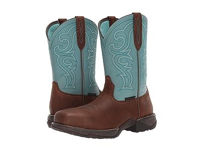 Ariat Anthem (Latigo Brown/Arctic Ice) Cowboy Boots