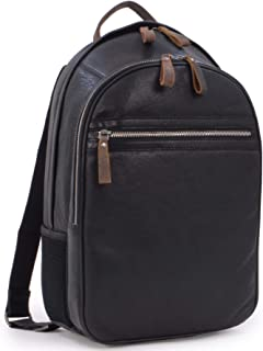 Ashwood Zip Backpack Rucksack - Milled VT Leather - Stratford Collection - 4555 - Tablet Compartment - Black