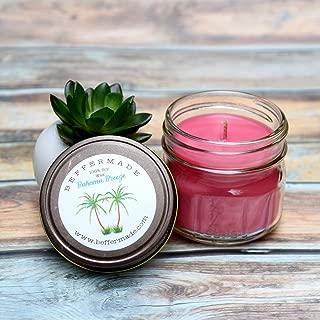 Bahama Breeze Candle, 4 oz soy candle