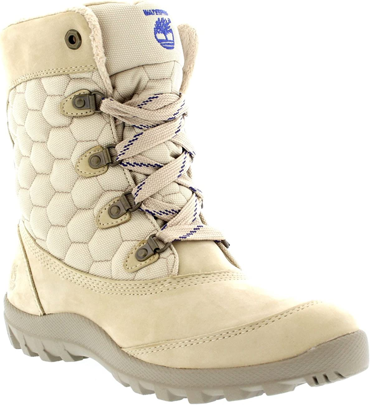 Womens Timberland Earthkeeper Mount Hope Winter Faux Fur Mid Calf Boot