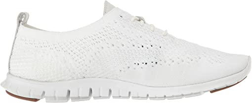 Optic White Knit/Leather/Vapor Grey