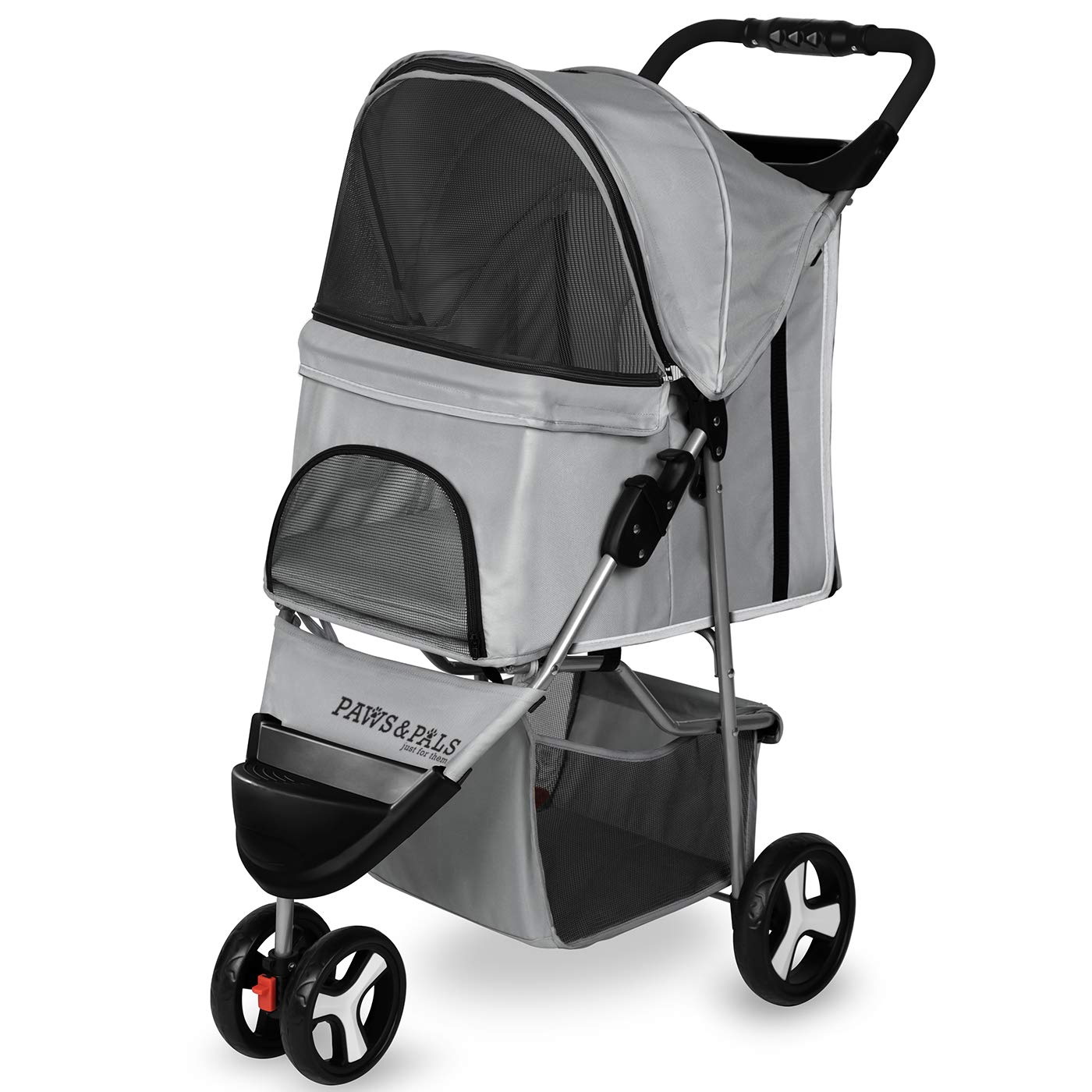Paws Pals Department store 3 Wheeler Elite Jogger Dog Cat Pet Stroller Al sold out. Easy to
