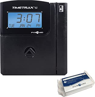 Pyramid TimeTrax TTEZ Automated Swipe Card Time Clock System - Serial