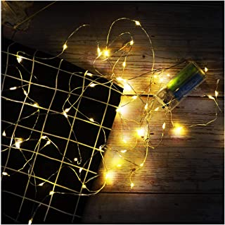 Artsay 10 Pack Fairy String Lights 10Ft with 30 LED Battery Operated Warm White Fairy Light for Home Bedroom Party Wedding
