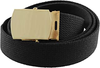 Sponsored Ad - Thomas Bates Canvas Web Belt Cargo Cotton Military Buckle Made in USA