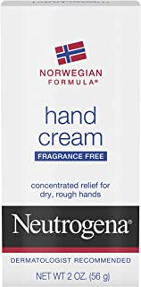 Neutrogena Norwegian Formula Moisturizing Hand Cream Formulated with Glycerin for Dry, Rough Hands, Fragrance-Free Intensi...