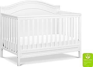DaVinci Charlie 4-in-1 Convertible Crib in White   Greenguard Gold Certified