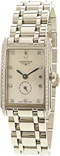 Longines Women's Dolcevita L52550876 Silver Stainless-Steel Swiss Quartz Dress Watch