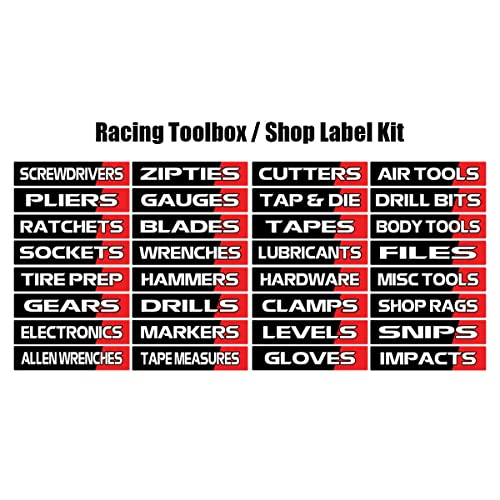 Personalised Name Sticker Label//Decal for Tool Box Chest Case Storage DIY Garage