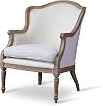 white french chair