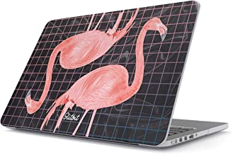 Glitbit Hard Case Cover Combatible with MacBook Pro 13 Inch Case Release 2012-2015, Model: A1502 / A1425 Retina Display NO CD-ROM Pink Flamingo Tropical Bird Summer