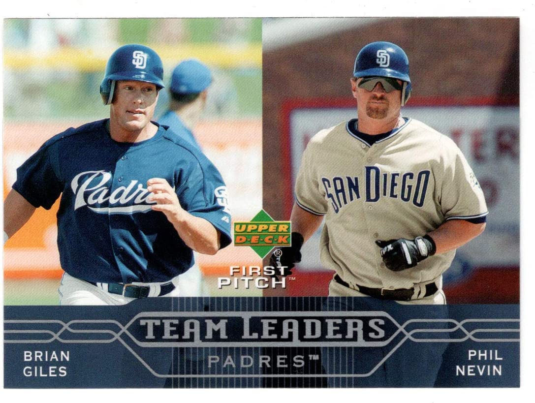 Brian Max 90% OFF Giles - Phil Nevin San Base 4 years warranty Leaders Team Padres Diego