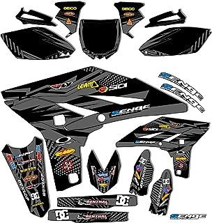 2005-2020 TTR 230, Mayhem Black Complete kit, Senge Graphics, Compatible with Yamaha